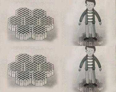 Panal de abejas con cilindros de papel