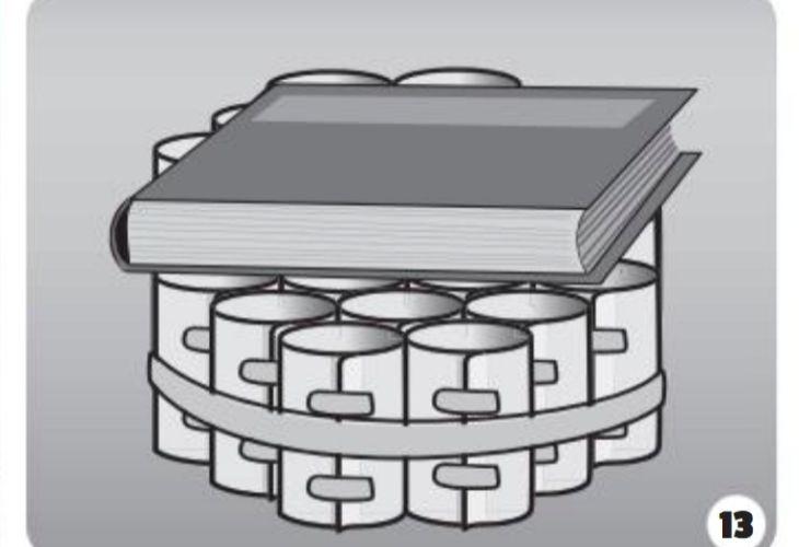Usos para cilindros de papel