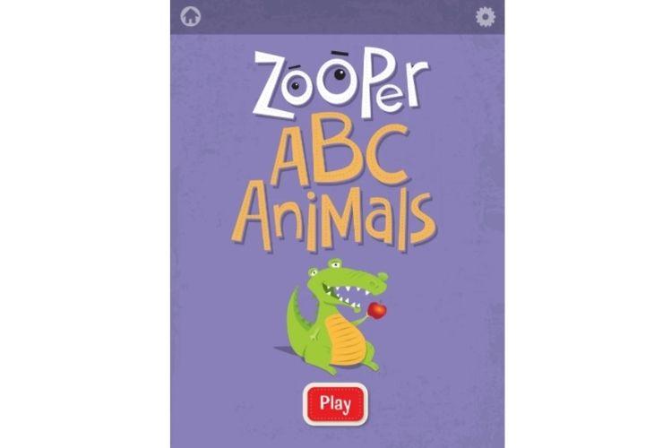 ABC Animals app para enseñar rimas