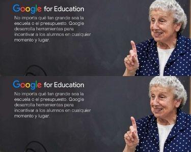 Capacitaciones para docentes desde google