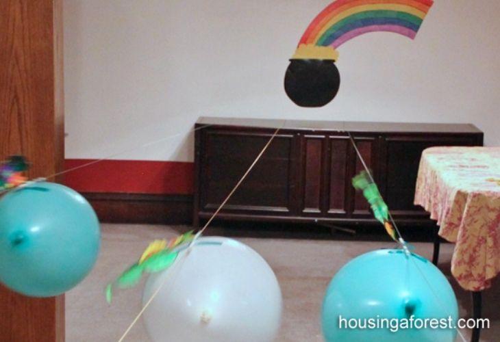 Carrera de globos