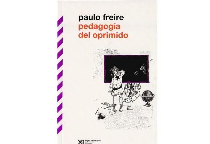 Fotografía de la portada del libro_ Pedagogía del oprimido de Paulo Freire