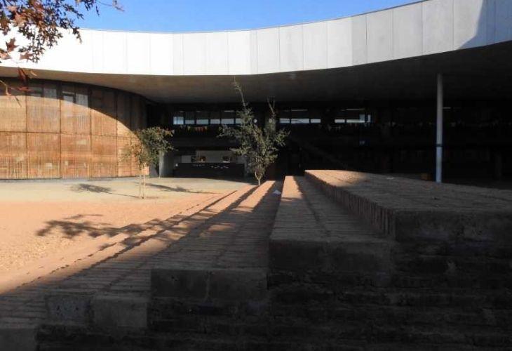 Fotografía de patio vivo como tercer educador del Colegio Ayelén.. (1)