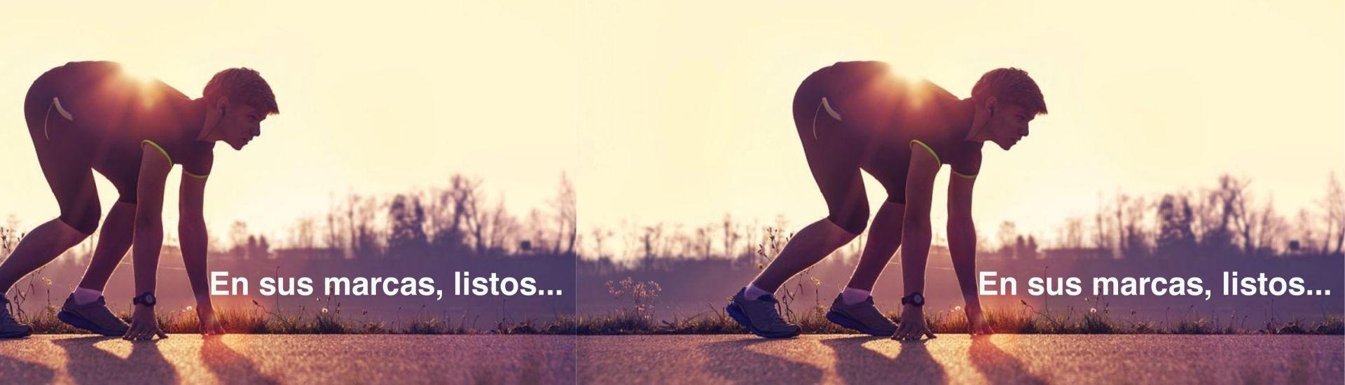 Fotografía de un deportista haciendo runnig