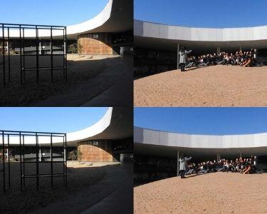 Fotografía del patio vivo como tercer educador del Colegio Ayelén