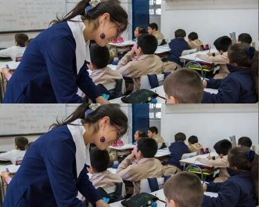 Fotografía sala de clases