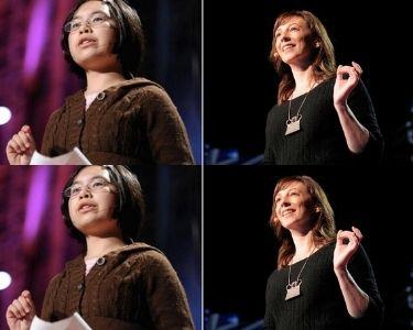 Fotos de charlas TED