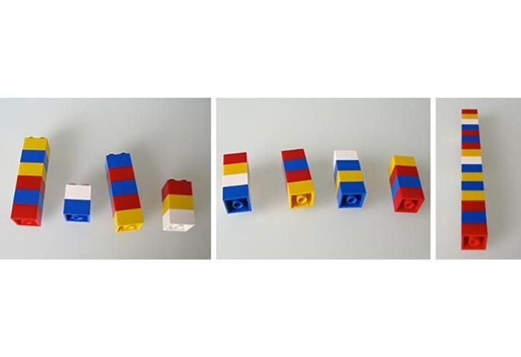 Fracciones con legos.