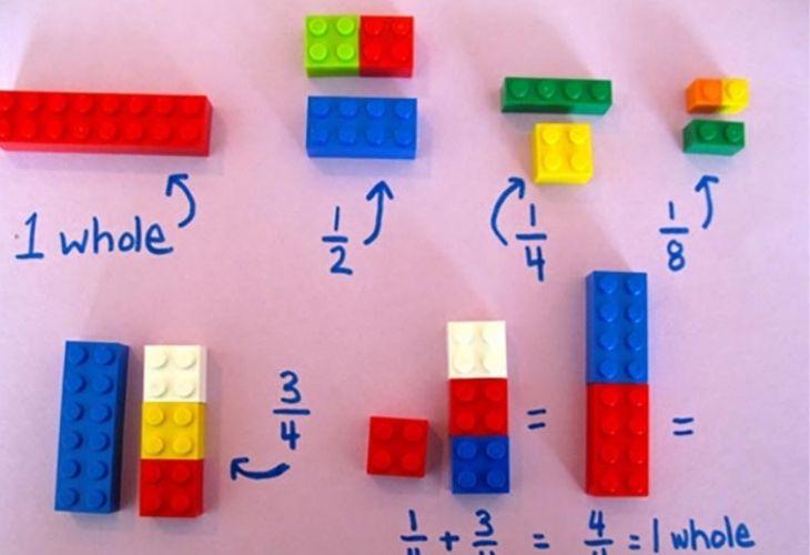 Fracciones con legos