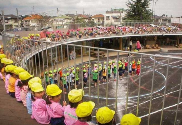 Fuji Kindergarten y niños_as