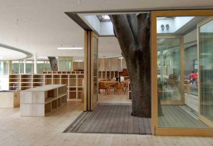 Fuji Kindergarten y sus instalaciones