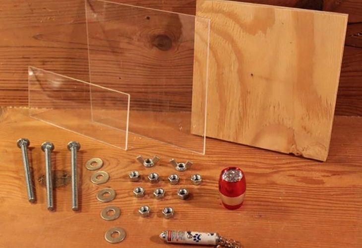 Materiales para microspocio