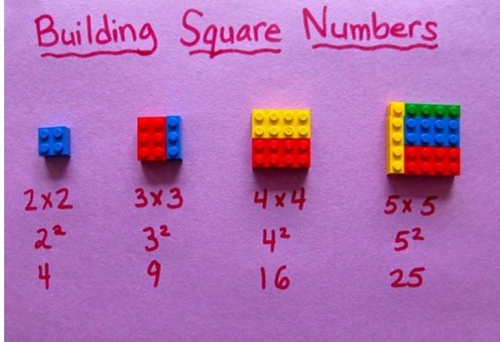 Multiplicaciones con lego