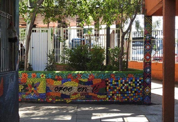 Murales Patio Centro de Educación Técnico Profesional de Maipú
