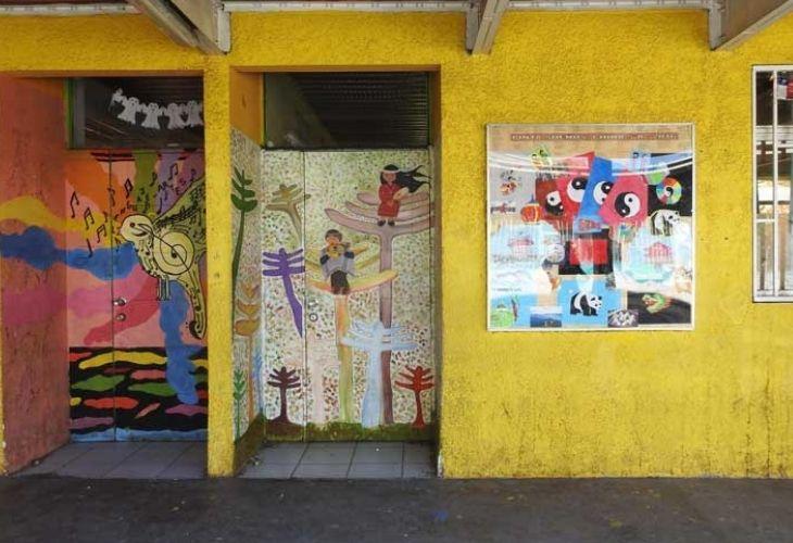 Murallas de Centro de Educación Técnico Profesional de Maipú