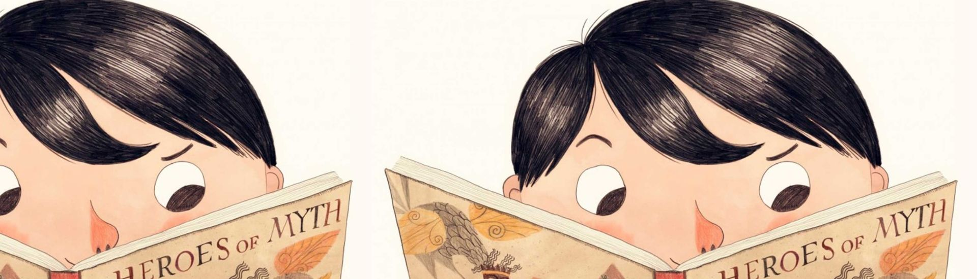 Niño leyendo un cuento