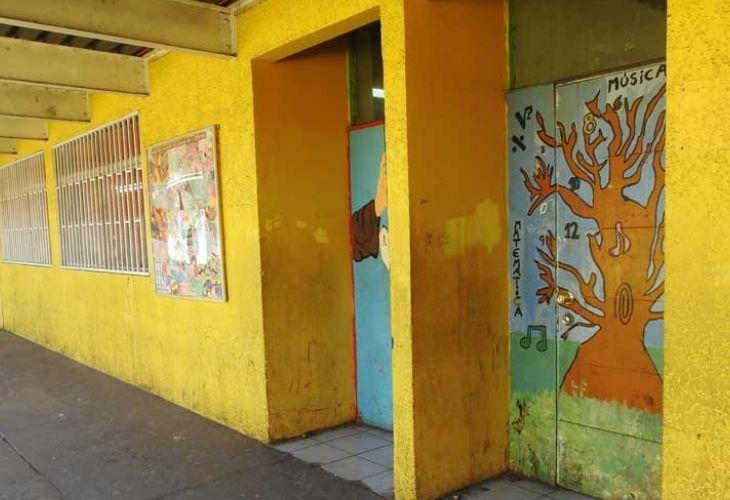 Pasillos del Centro de Educación Técnico Profesional de Maipú