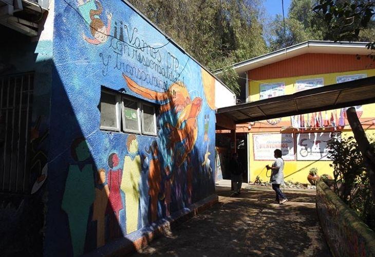 Patio Centro de Educación Técnico Profesional de Maipú
