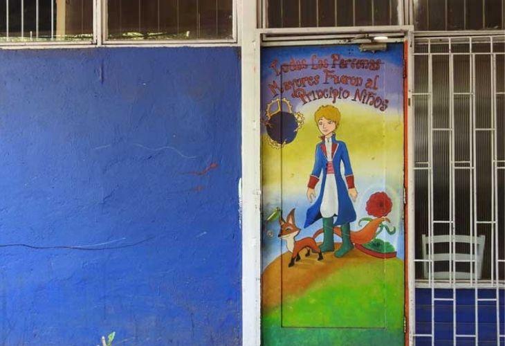 Puertas de principito Centro de Educación Técnico Profesional de Maipú