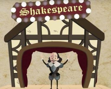 Video histórico de Shakespeare