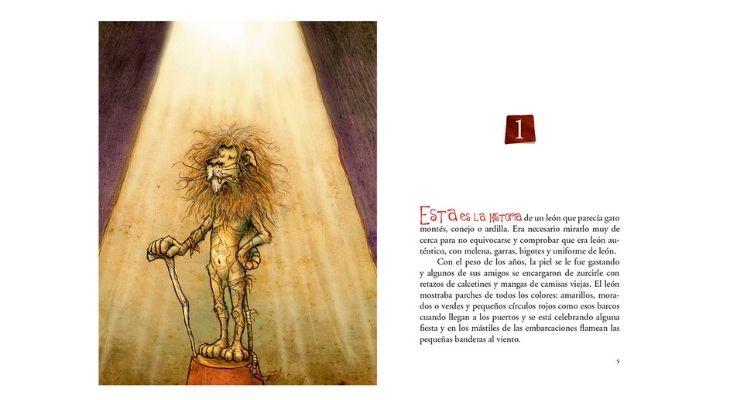 Portada del libro León, peregrino del Golfo de Arauco