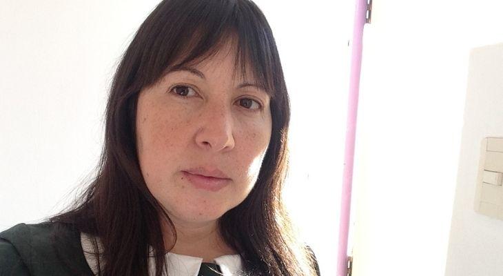 Selfie de la profesora Elena Bugueño, directora del jardin infantil blanca nieves