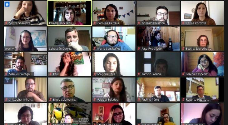 Pantallazo donde se ven a todos los profesores ganadores y finalistas del global teacher prize chile