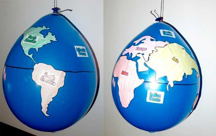 Fotos de diversas actividades para desarrollar contenido de geografía