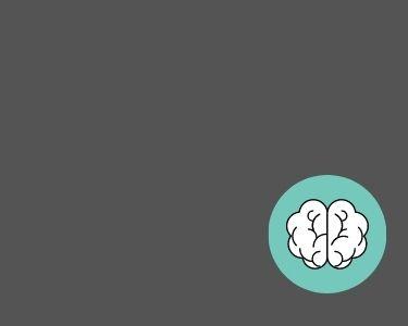 Ilustracion de un pequeño cerebro, en alusión con la importancia del pensamiento en el aprendizaje