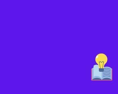 Ilustración de un bombillo, representando el proceso de aprendizaje