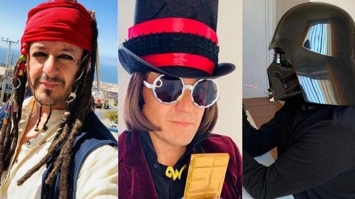 cosplay profe Carlos