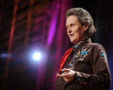 Imagen de Temple Grandin y Alix Generous, que hablar sobre cómo es vivir con Asperger