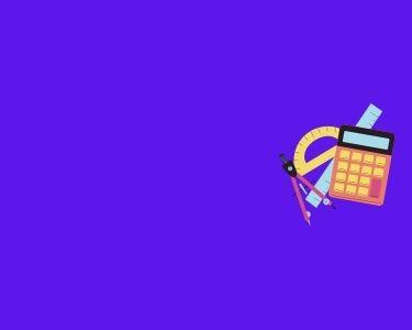 Imagen de una calculadora, un juego de escuadras y un compás, algunos elemento que se usan para el trabajo matemático.