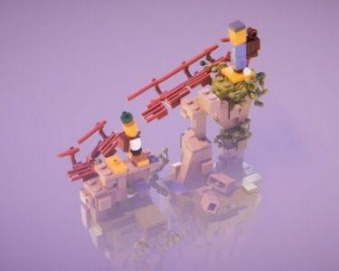 Imagen de LEGO Builder's Journey, un videojuego que puede ayudar a desarrollar habilidades socioemocionales