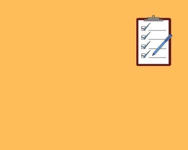 Ilustración de una hoja con 4 checks, en alusión a la nota que habla sobre la evaluación auténtica y su valor para la interdisciplina