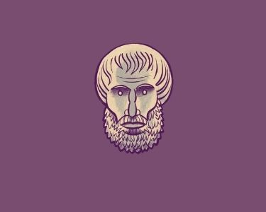 Imagen del filosofo Platón mirando al frente, en alusión a la nota que habla sobre la importancia de filosofar desde el ciclo inicial educativo
