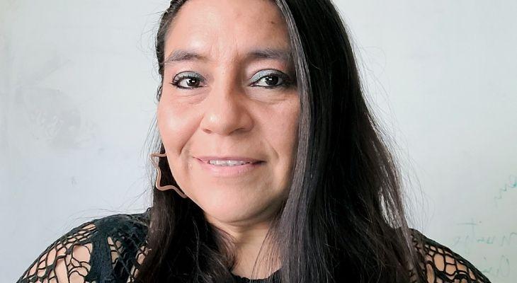 Retrato de la profesora Maritza Arias