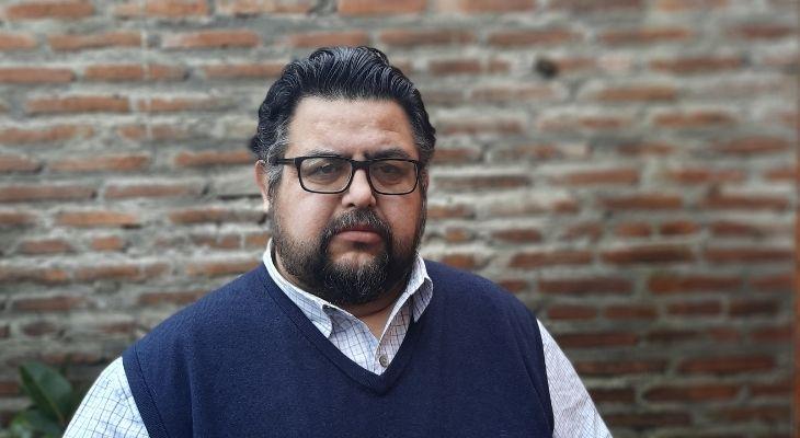 Imagen del profesor Sergio Gómez