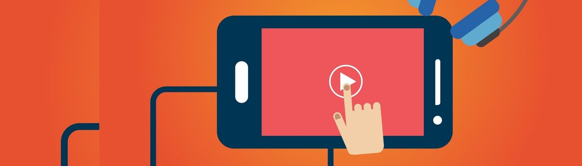imagen de un celular reproduciendo un video de youtube