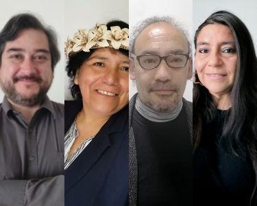 Retratos de varios finalistas del Global Teacher Prize Chile 2021. Foto cortesía de los docentes.
