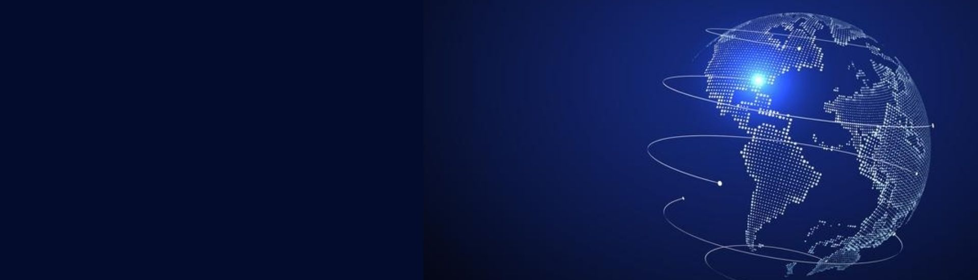 imagen de un planeta en tonos azules